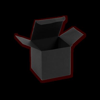 Geschenkkarton schwarz